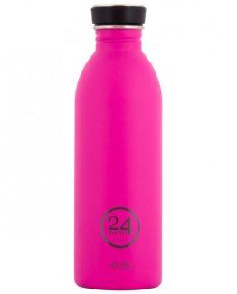 24Bottles - nerezová lahev Urban Bottle 500 ml růžová