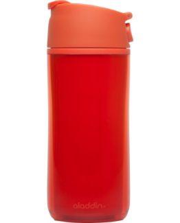 Aladdin - Termohrnek FLIP & SIP 0,35l plast - červený-1