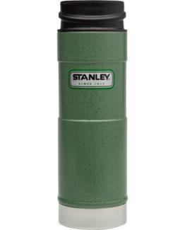 Stanley - termohrnek do 1 ruky Hammertone 0,47l zelený