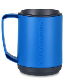 Lifeventure plastový hrnek Ellipse s dvojitou stěnou modrý