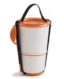 BLACK-BLUM box na jídlo Lunch Pot oranžový (2)
