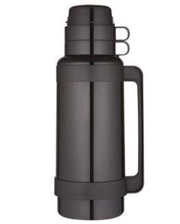 Thermos - skleněná termoska černá 1000 ml