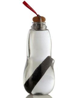BLACK-BLUM filtrační láhev na vodu Eau Good 800 ml červené poutko