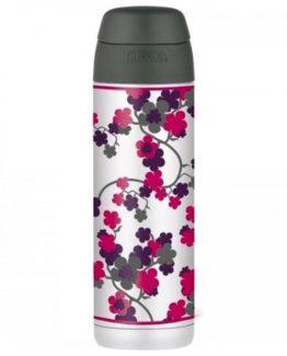 Thermos - Termoska na nápoje s brčkem 530 ml třešňový květ