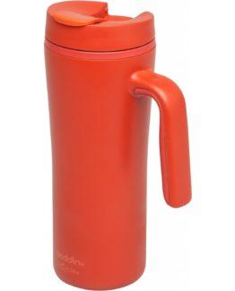 Cestovní termohrnek s uchem Flip-Seal 350 ml červený