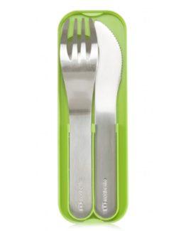 Monbento nerezový příbor MB Pocket green-1