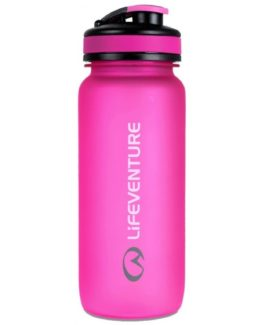 Lifeventure lahev na vodu Tritan Bottle 650ml graphite růžová