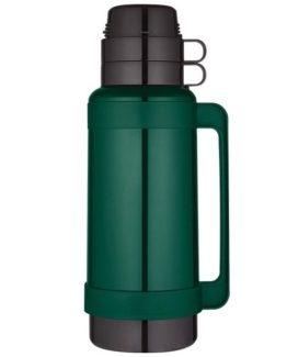 Thermos zelená vakuově izolovaná termoska se skleněnou vložkou 1800 ml.