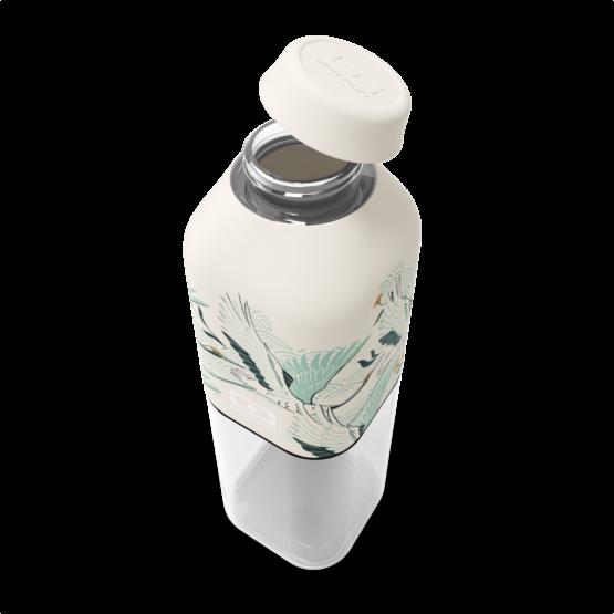 Láhev na pití Monbento Positive M Destiny 500 ml má promyšlený tvar díky kterému zabere málo místa