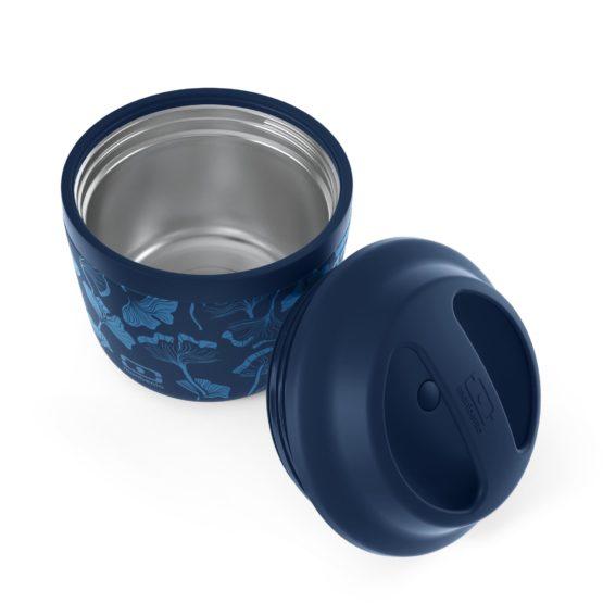 Vakuově izolovaná termoska na jídlo Monbento MB Element blue ginkgo